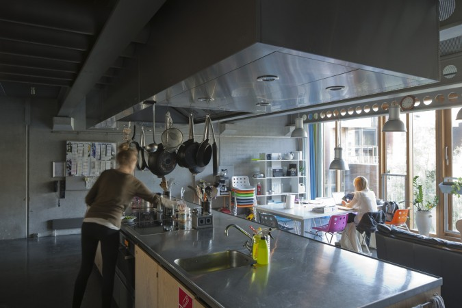 Kitchens And Common Rooms Tietgenkollegiet